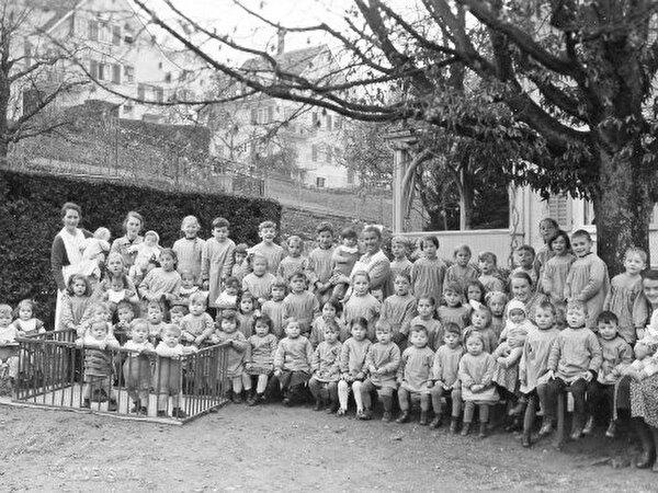 Bild von Kindern in der Kinderkrippe Wädenswil