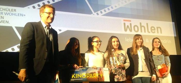 Preisverleihung Filme Mis Wohle im Kino Rex