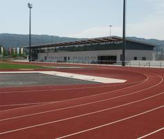 400m Laufbahn