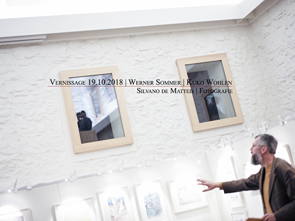 Vernissage Werner Sommer
