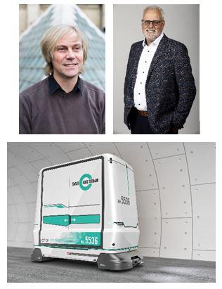 (l)Patrik Aellig, Kommunikation und Public Affairs,(r)Klaus Juch, Projektleiter Construction Planning