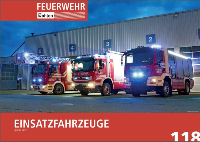 Fahrzeuge der Feuerwehr Wohlen