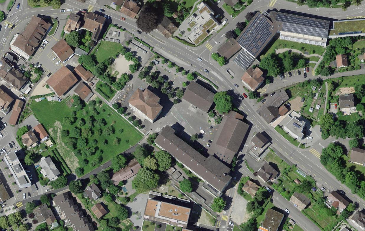 Luftbild Areal Halde