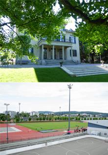 Strohmuseum und Sportzentrum Niedermatten