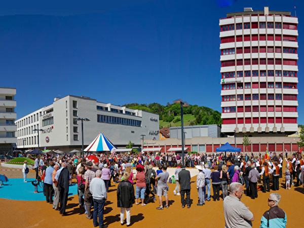 Einweihung Schmidheiny-Park, 18. Mai 2013