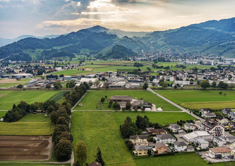 Luftaufnahme, Fotografen Lukas Hämmerle / Thomas Holzer
