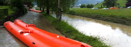 Hochwasser am Littenbach