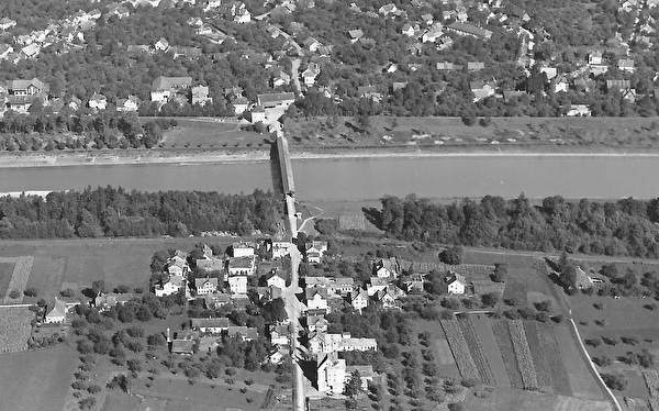 Oberfahrbrücke, Luftbild (Foto: Gross-Aero, St. Gallen)