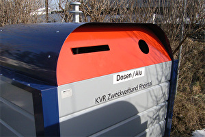Sammelbehälter für Dosen bzw. Alu