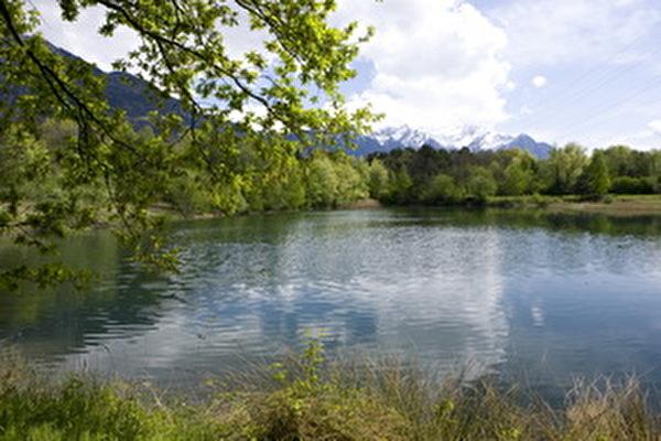 Naturschutzgebiet Afrika-See