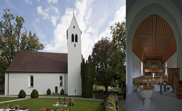 Bild evang. Kirche Gretschins