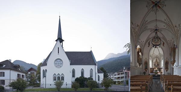 Bild Kath. Kirche Azmoos