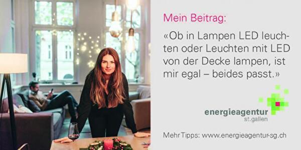 Energiespartipp LED