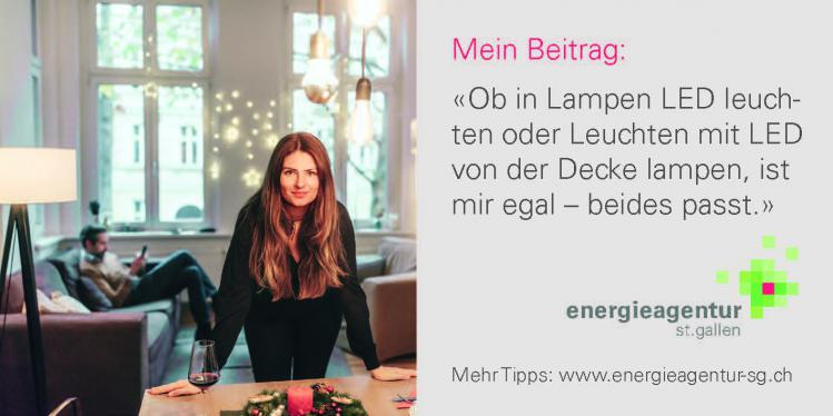Energiespartipp LED