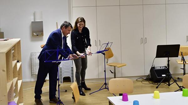 Cornel Egger und Marietta Bosshart