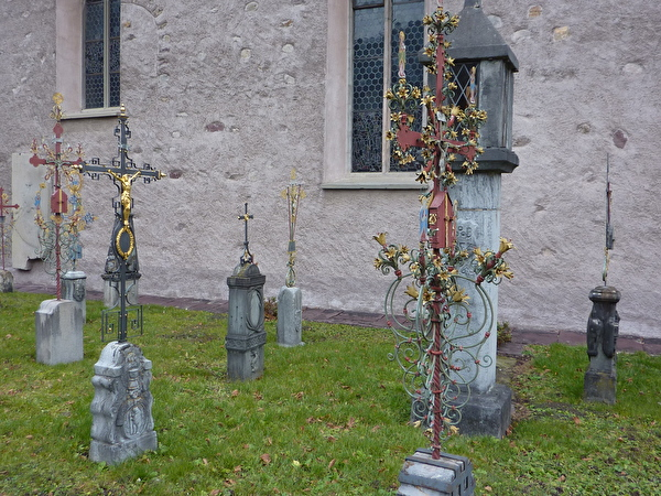 Friedhofkreuze St. Justuskirche