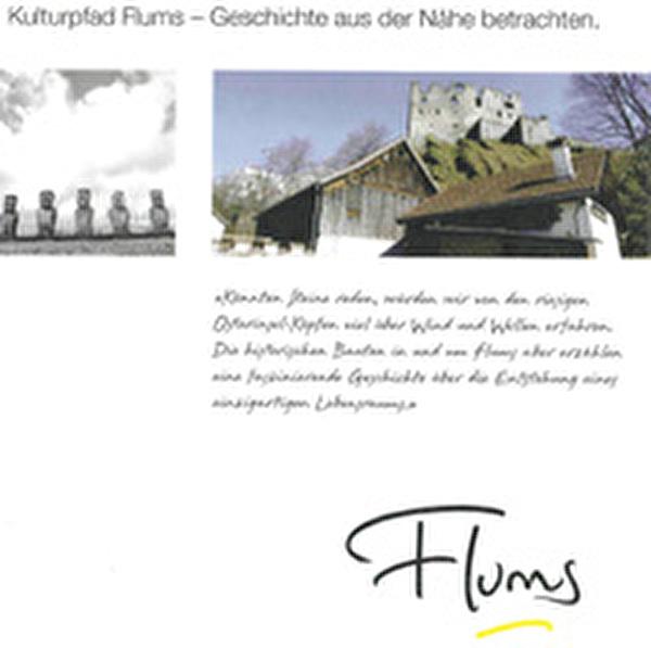 Broschüre Flumser Kulturpfad