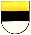Das Wappen der Gemeinde Flums ist zweimal geteilt von Gold, Schwarz und Silber. Der Gemeinderat hat sich 1932 als Schild und Farben der Gemeinde Flums für dieses Wappen von Ritter Ulrich von Flums, dessen Grabplatte mit dem Wappen der Herrschaft im Dom zu Chur erhalten blieb, entschieden.
