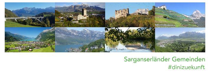 Logo Sarganserländer Gemeinden