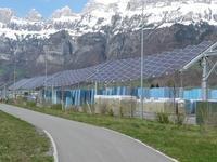 Solaranlage bei der Flumroc AG