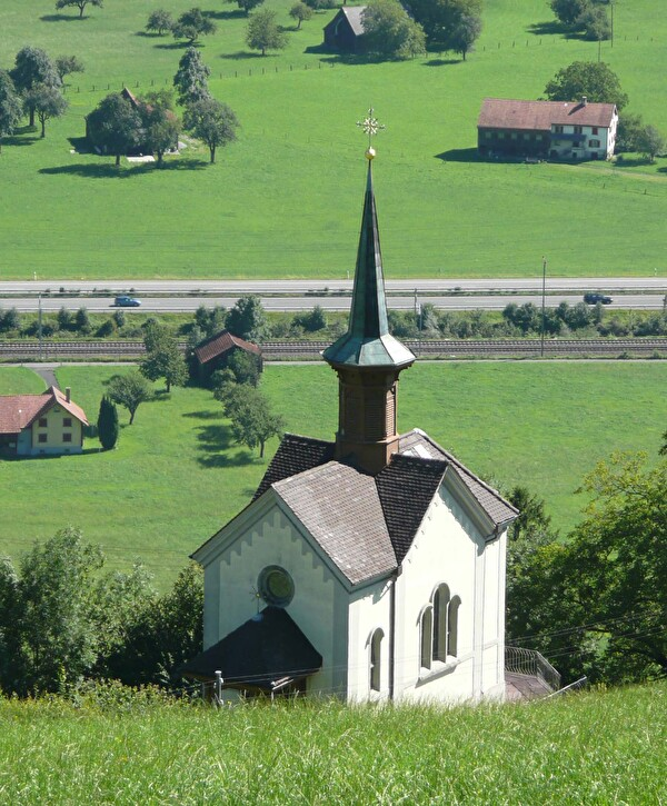 Kapelle Maria Lourdes auf Clevelau