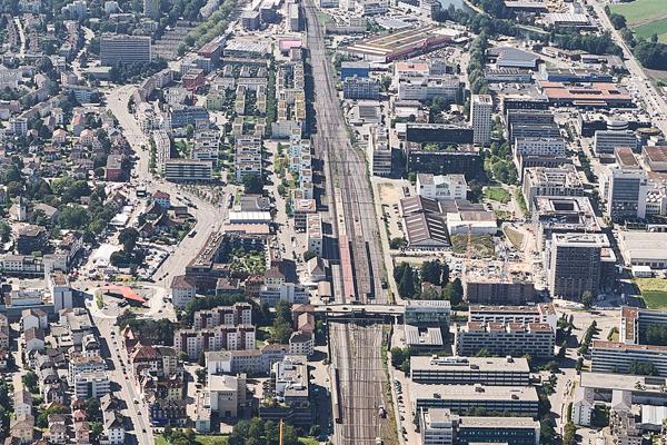 Luftaufnahme Stadt Schlieren