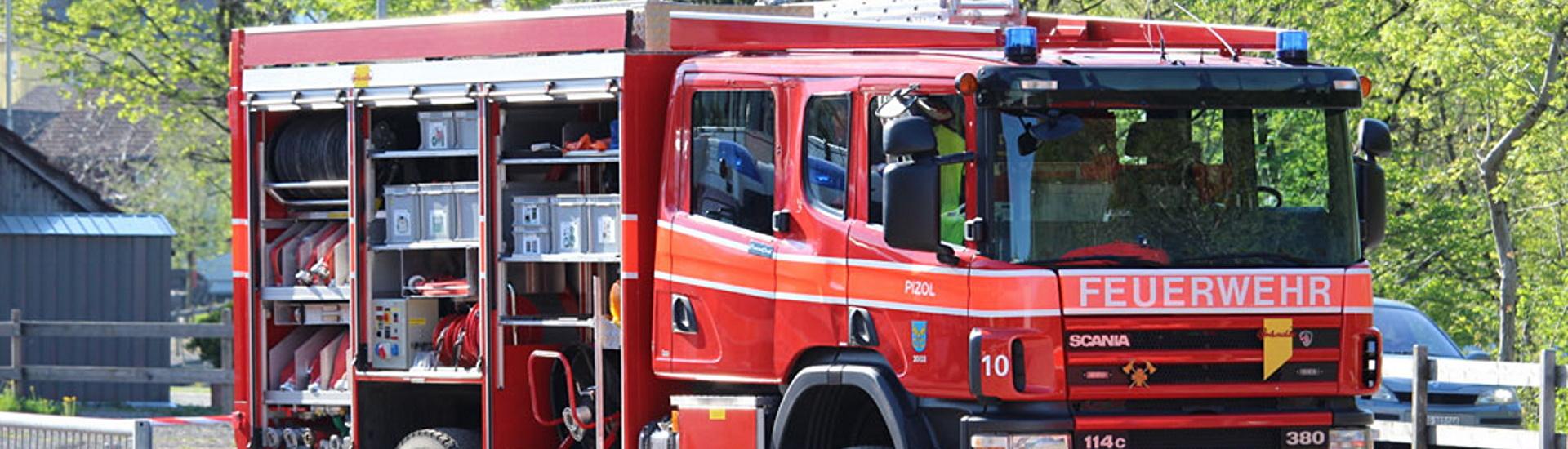 Feuerwehr Pizol