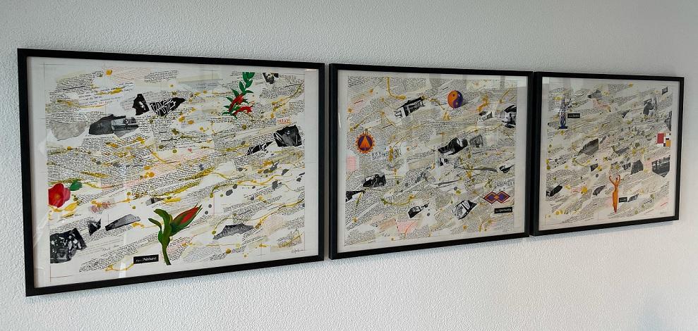 Triptychon «Grand View»