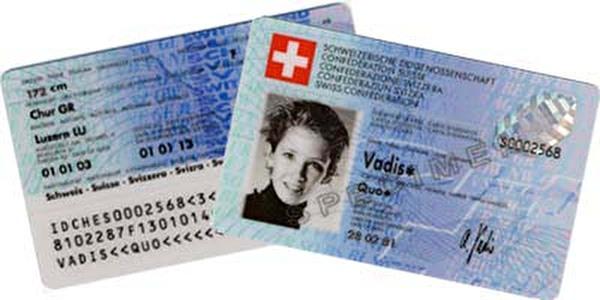 Bild Identitätskarte