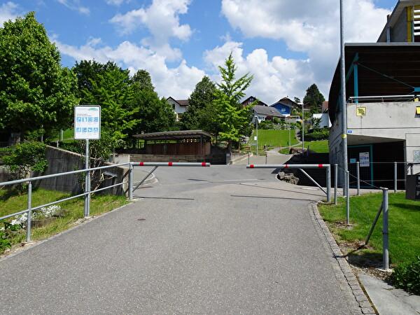 Schranke Schulstrasse
