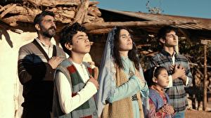 Protagonisten aus dem Film Al-Shafac. Wenn der Himmel sich spaltet.