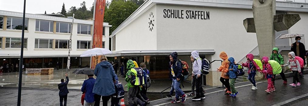 Schulhaus Staffeln ist eröffnet und bezogen