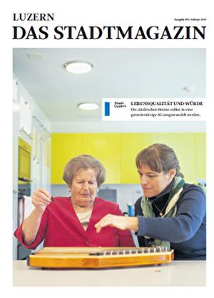 Luzern - Das Stadtmagazin 1/2014