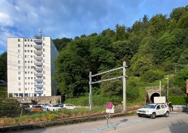 Neubau Quartierpark Fluhmühle