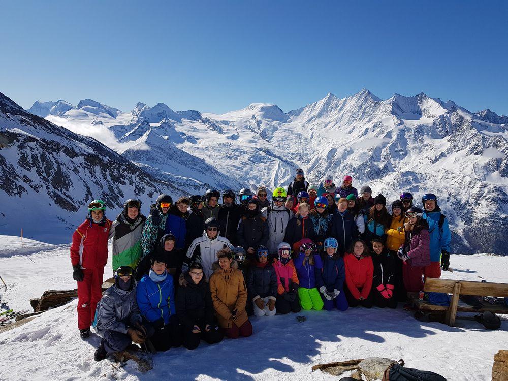 Schneesportlager Saas Grund