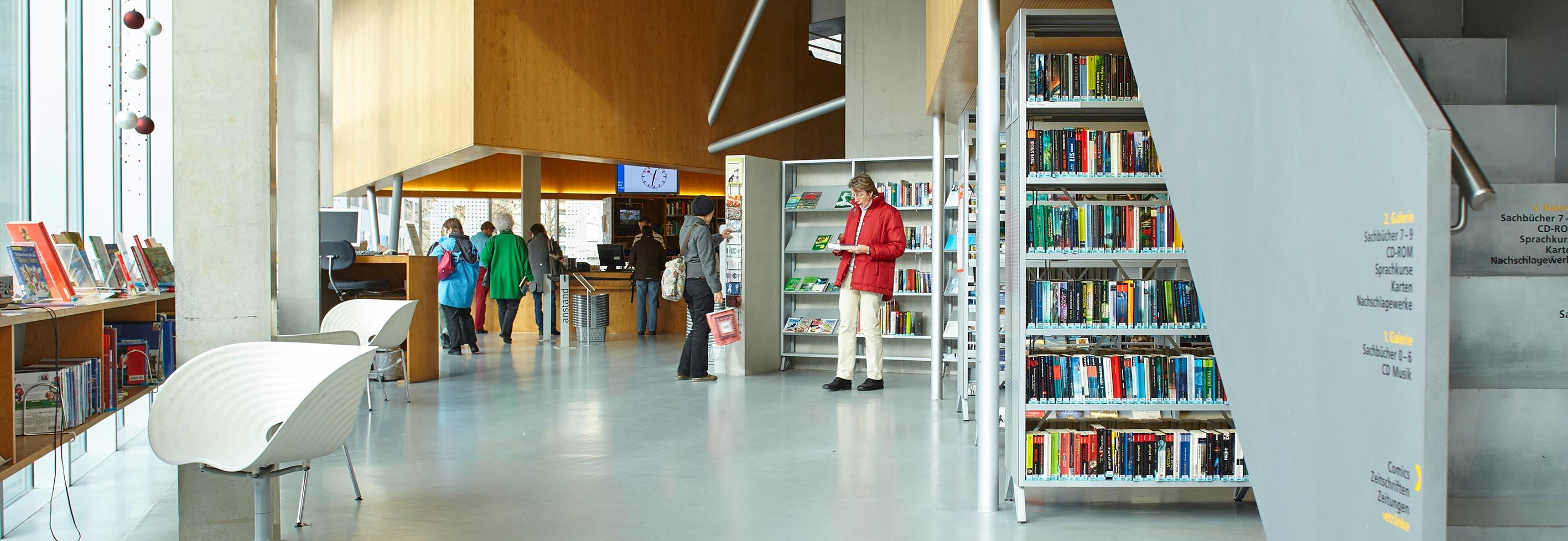 Stadtbibliothek & Bibliothek Ruopigen