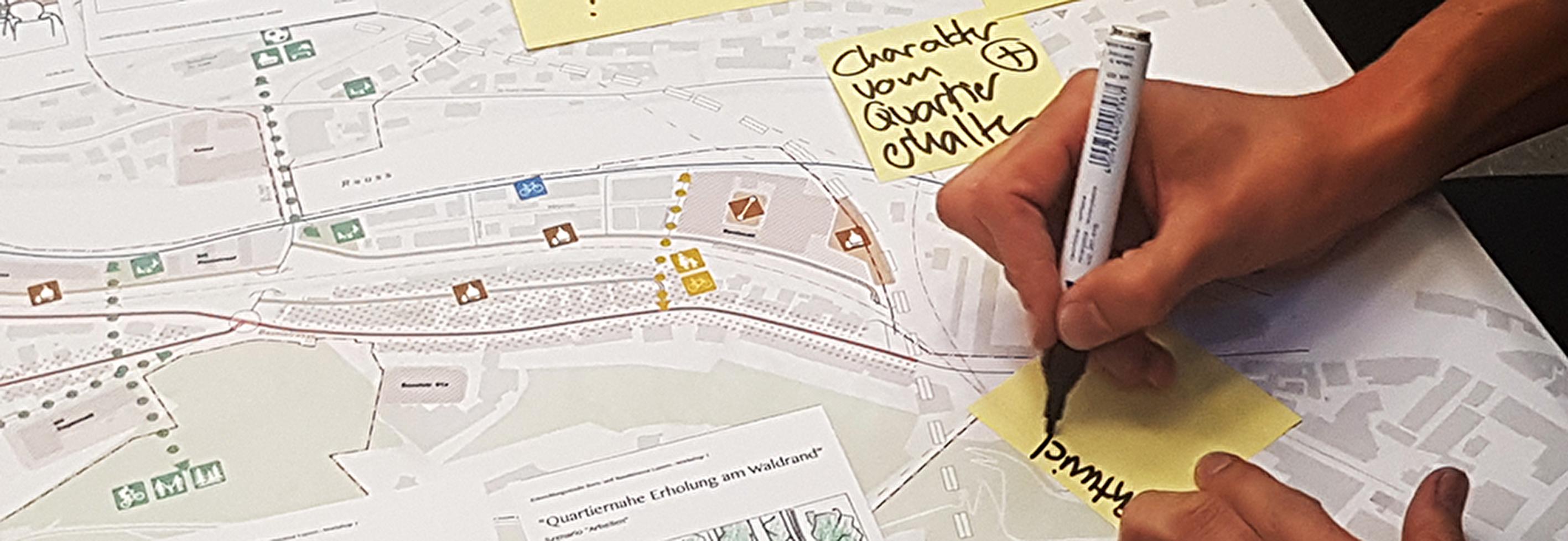 Entwicklungskonzept Basel- und Bernstrasse