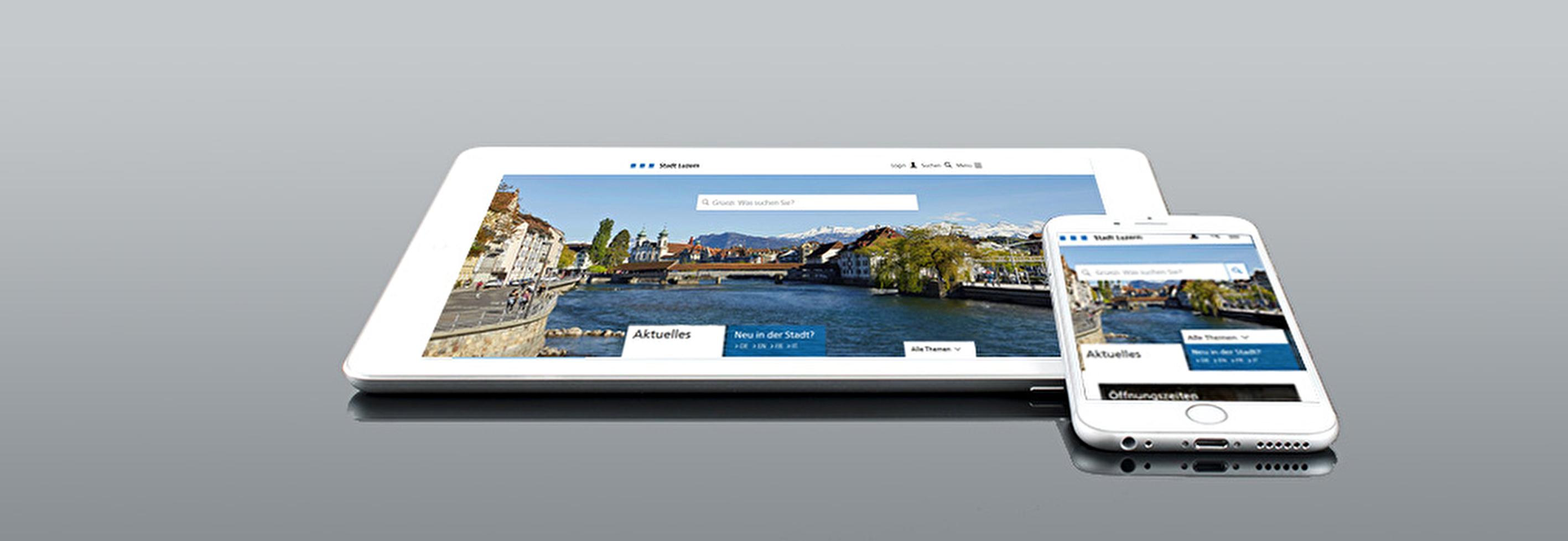 Neuer Internet-Auftritt: Luzern ist mobil