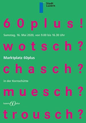 Front Flyer Marktplatz 60plus