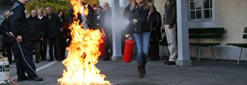 Brandschutzinstruktion
