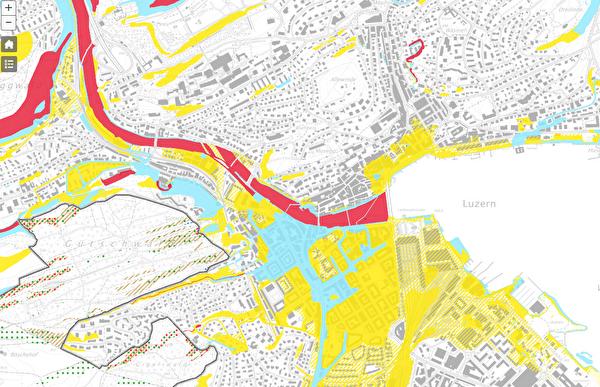 Gefahrenkarte Stadt Luzern