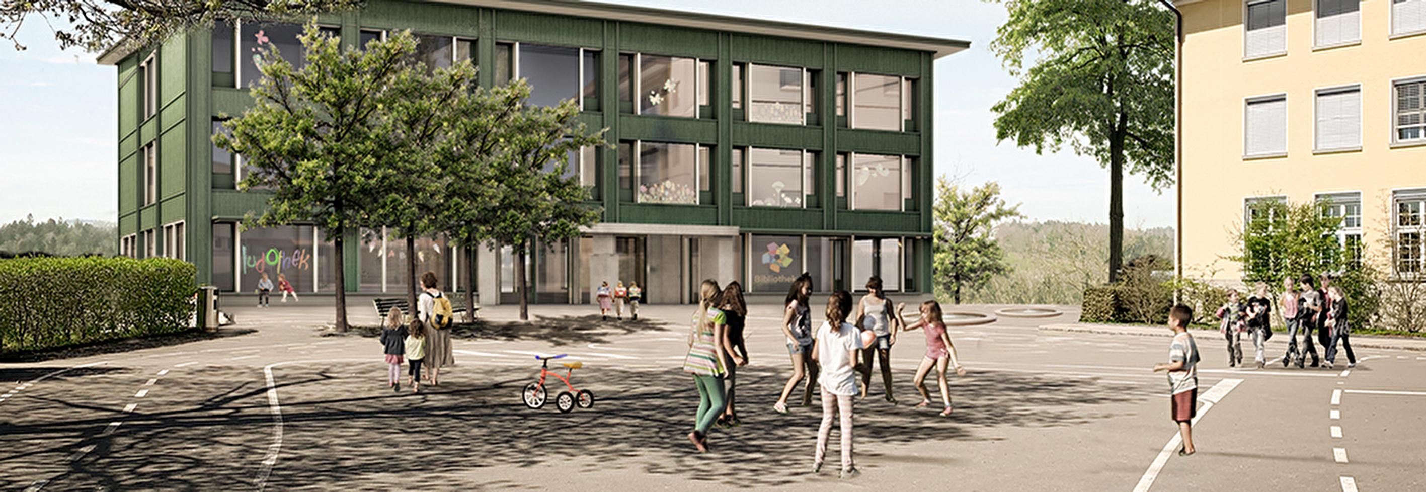 Projektwettbewerb Schulhaus Littau Dorf