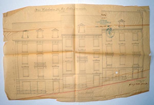 Baupolizeiakte von 1876