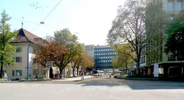Erste Visualisierung gemaess Y-Loesung (Quelle: Stadt Luzern)