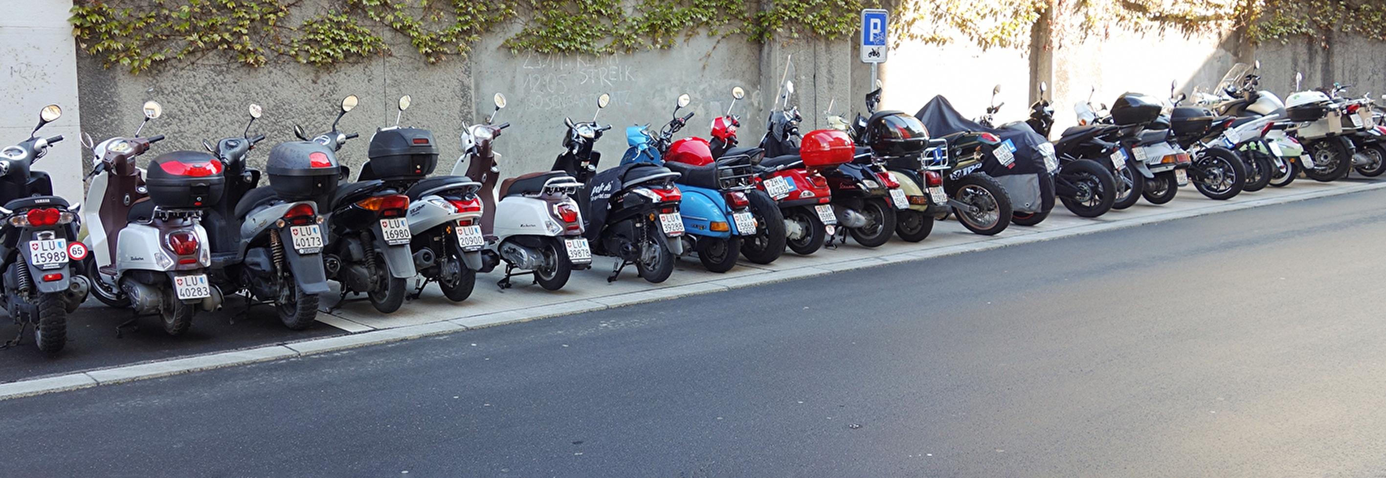 Motoparkierung