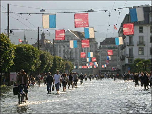 Hochwasser in Luzern