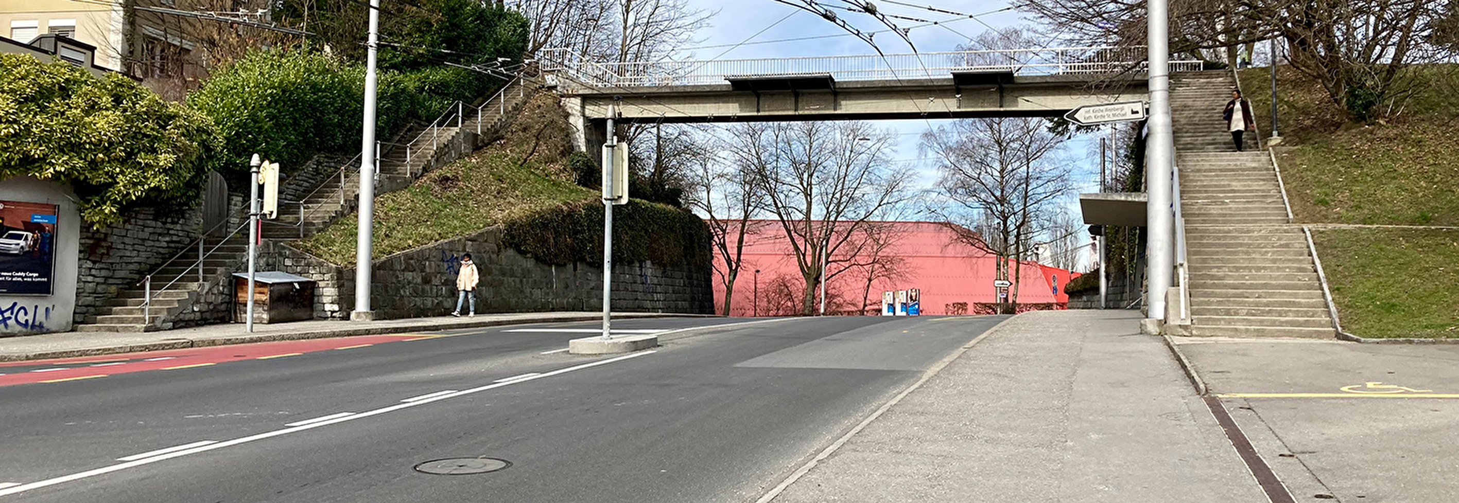 Fussgängerüberführung Weinbergliweg