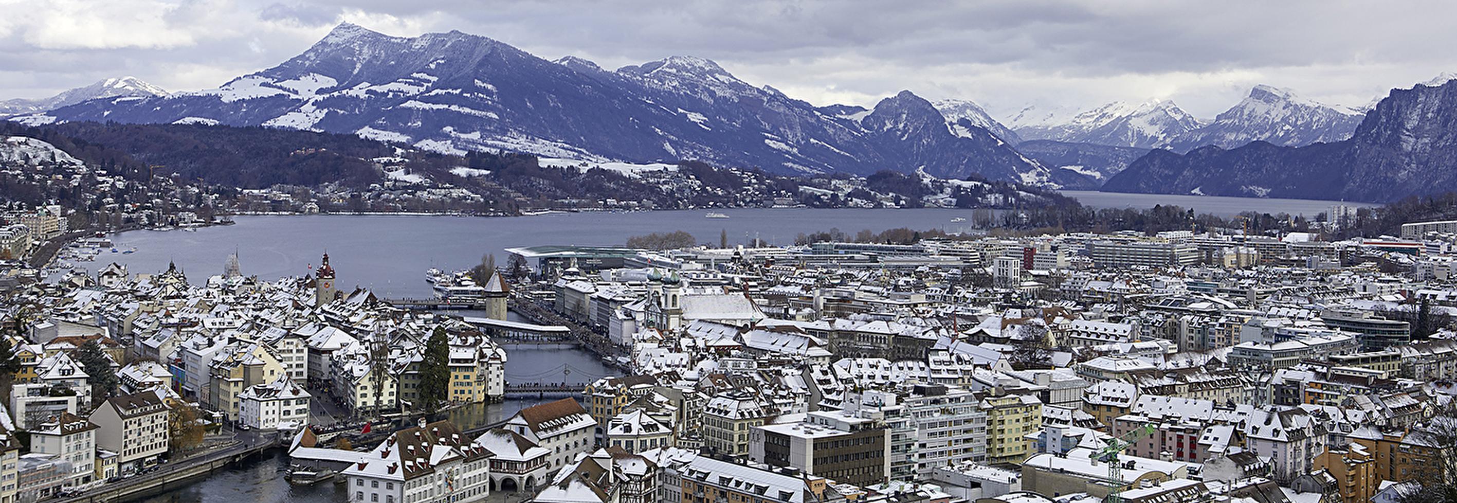 Luzern im Winter