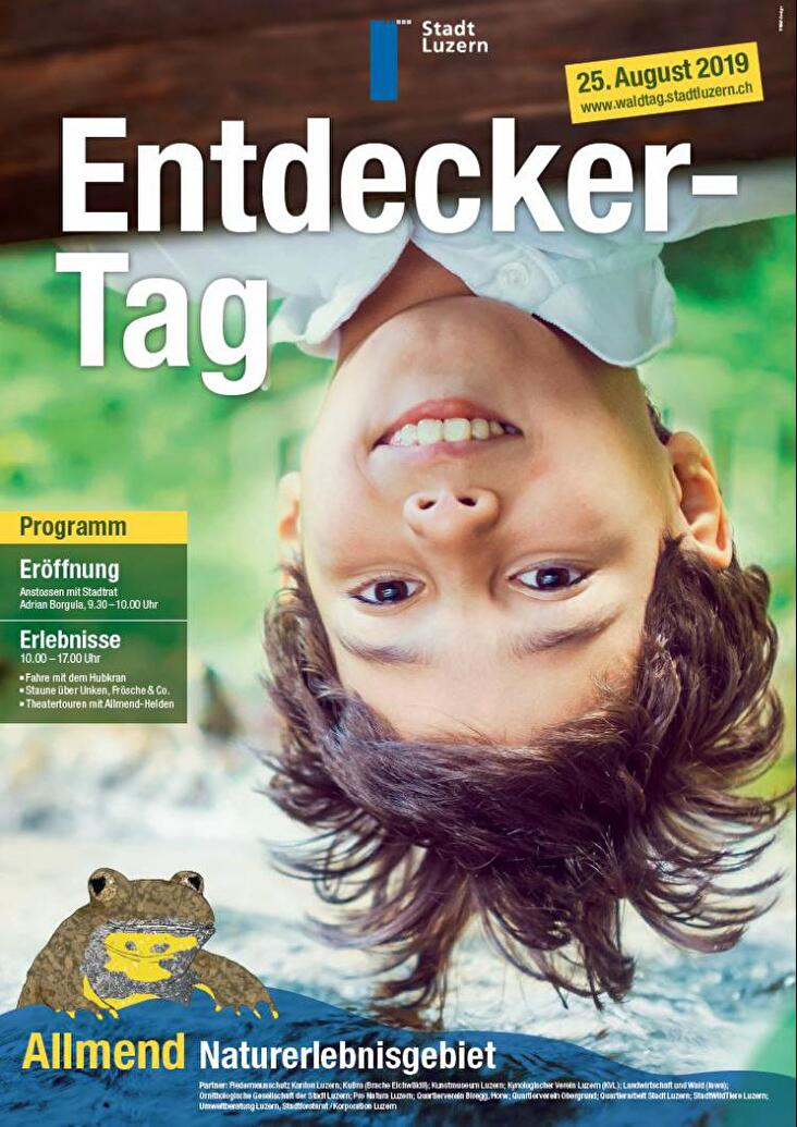 Plakat Entdeckertag 2019