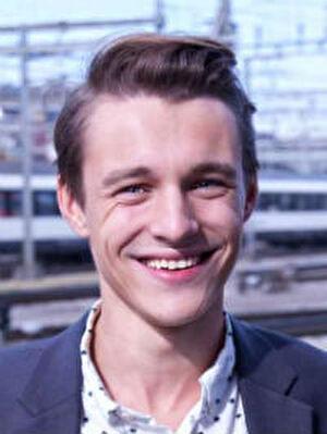 Yannick Gauch. Grossstadtrat